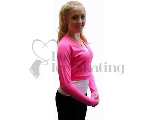 JIV Figure  Ice Skating Wrap - Pink