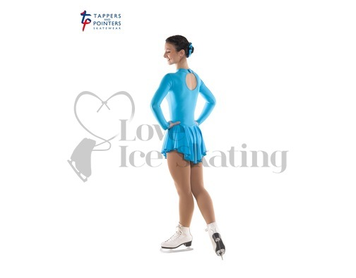 Ice Skating Dress Kingfisher Blue by Tappers and Pointers