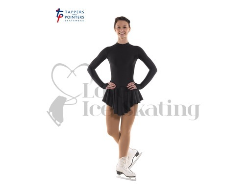 Ice Skating Dress Black by Tappers and Pointers