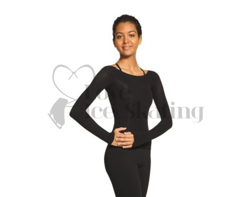 Mondor 816 Long Sleeve Shear Body Pop Black
