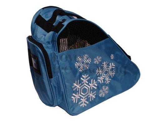 Snowflake Design Deluxe Skate Bags