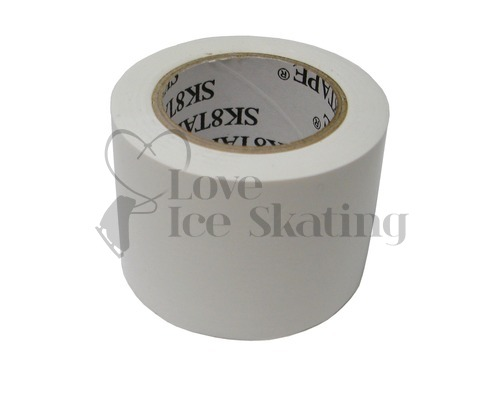 White Sk8 Tape 4cm Ice Skate Boot Protection Tape