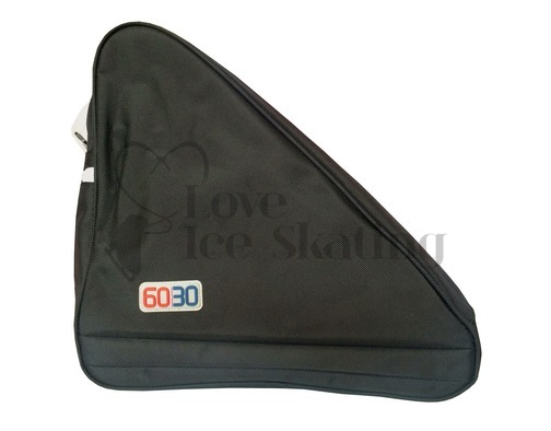 Large Black Triangle Ice Skating Bag
