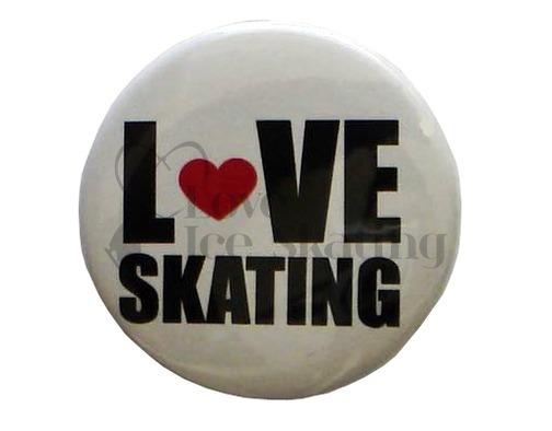 Love Skating Badge