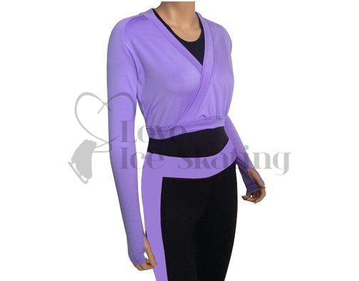 JIV Figure Skating Wrap - Lavender