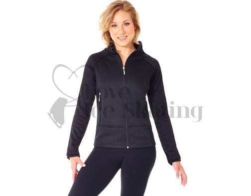 Mondor 4730 Polartec Ice Figure Skating Black Jacket