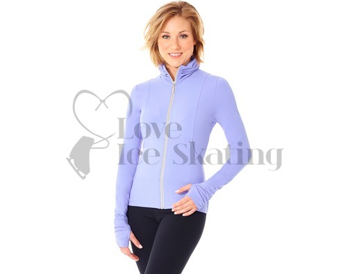 Ice Skating Girls Ladies Jacket by Mondor 4808 Periwinkle