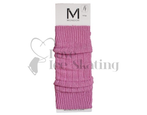 Mondor 259 Sparkle Capri Pink Legwarmers