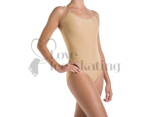Mondor Ice Skating Camisole Body Liner Undergarment Caramel 11809