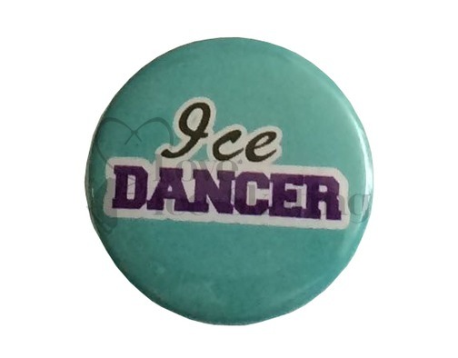 Ice Dancer on Teal badge