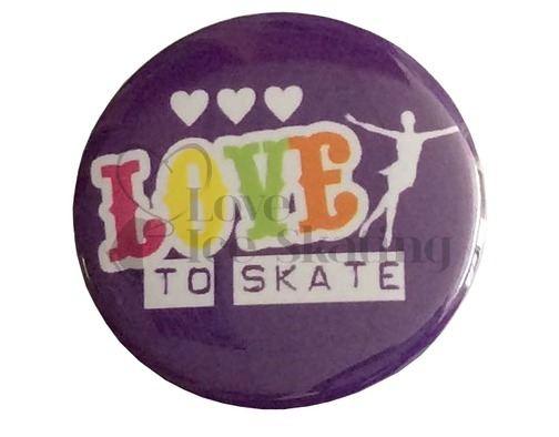 Love to Skate Rainbow Badge