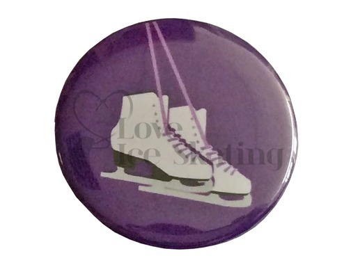 Ice Skates on Purple badge