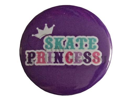 Skate Princess on Purple Badge