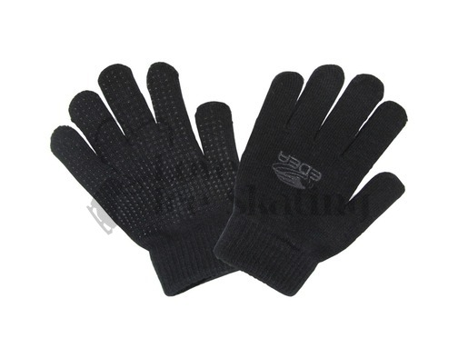 Edea Black Skating Gloves with I touch Medium