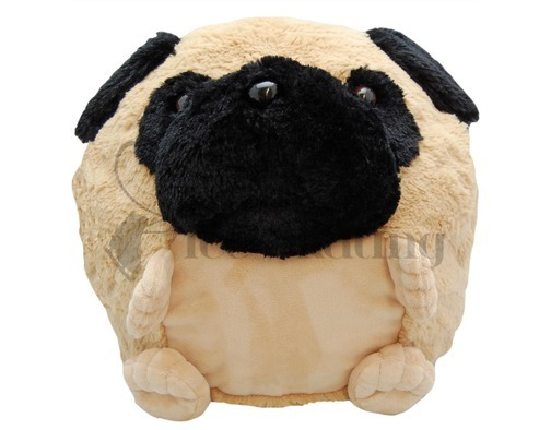 Pug Super Plush Hand Warmer
