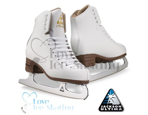 Jackson Mystique White Ladies Figure Skates