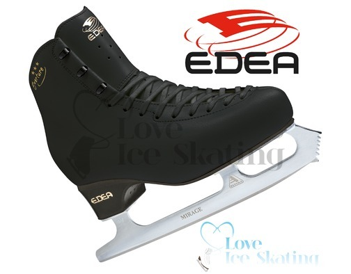 Edea Overture Figure Skates Black - Junior