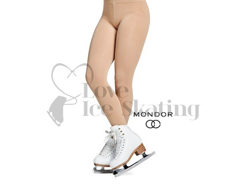 Mondor 901 Twin Pack Footed Ice Skating Tights