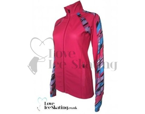 ES Performance Figures Ice Skating Jacket Pink