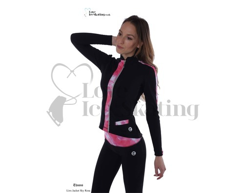 Thuono Linx Ice Skating Jacket Sky Rosa