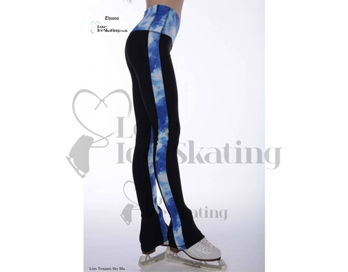 Thuono Linx Ice Skating Leggings Sky Blue