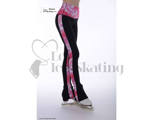 Thuono Linx Ice Skating Leggings Sky Rosa