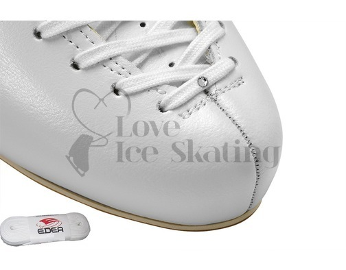 Edea White  Laces White with Swarovski Crystal