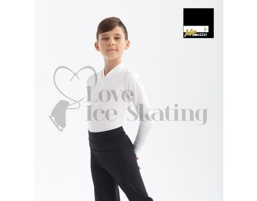 Intermezzo 31342 Black Male Skating Shirt