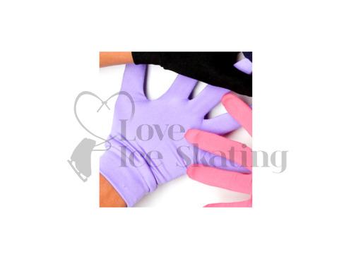 Jiv Figure Ice Skating Lavender Gloves