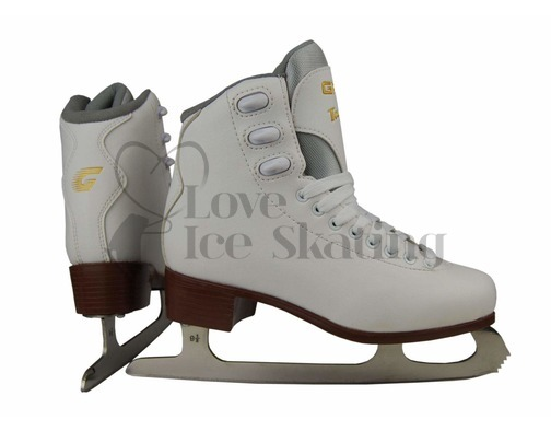 Graf Bolero  White Figure Skates Junior