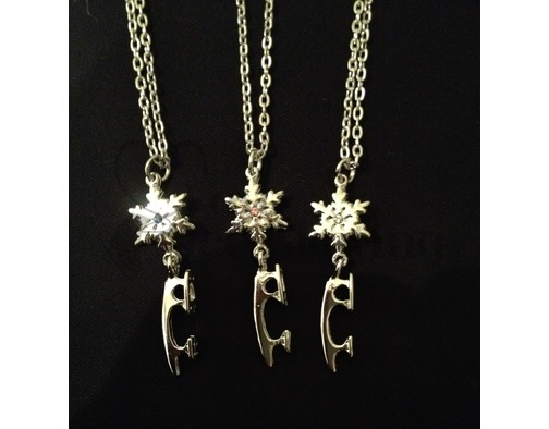Jerry's Snowflake &  Blade Necklace