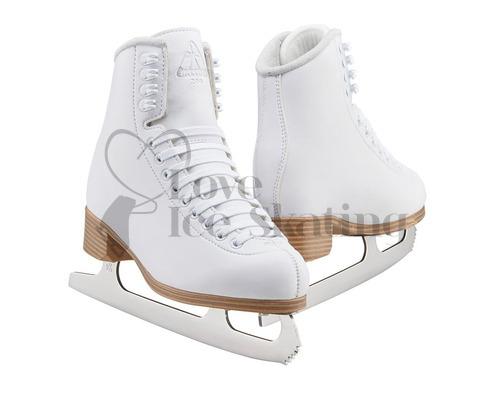 Jackson JC200 Classic White Figure Skates