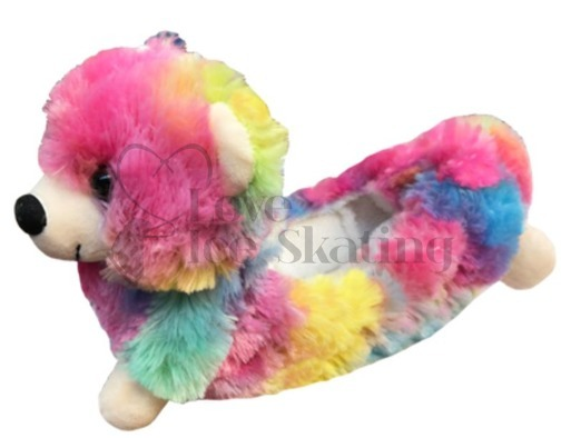 Rainbow Bear Ice Skate Blade Soakers