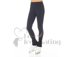 Mondor Supplex® Black with Mesh Ice Skating Leggings