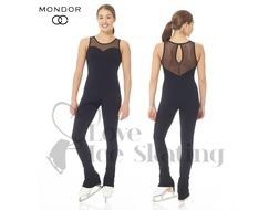 Mondor Supplex® Figure Skating Black Catsuit