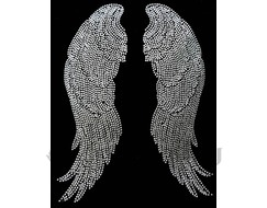 NY2 Figure Skating Polartec Fleece Jacket Rhinestone ANGEL WINGS
