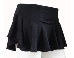 Chloe Noel York Flare Skirt Black