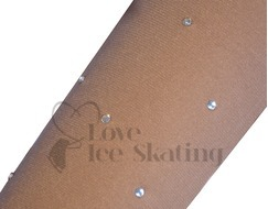 Intermezzo In the Boot Ice Skating Tights with Small Rhinestone Crystals
