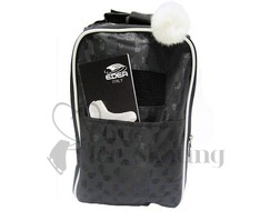 Edea Jacquard Black Ice Skate Bag