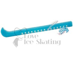 Guardog Figure Ice Skate Blade Guards Blue Glitz
