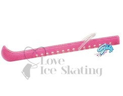 Guardog Figure Ice Skate Blade Guards PINK GLITZ