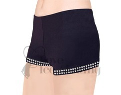 Ice skating Shorts with Rhinestones