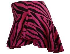 Chloe Noel York Flare Skirt Zebra/Fuchsia