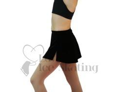 Chloe Noel A-Line Ice Skirt with Layback Rhinestones