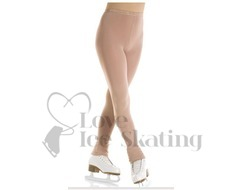 Mondor Evolution Footless Ice Skating Tights 3339 Light Tan