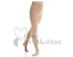Mondor 3337 Evolution Footed Ice Skating Tights  Light Tan