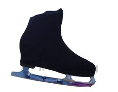 Adult XL Black Figure skating Boot Covers