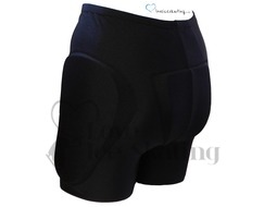 Intermezzo 5044 Black Padded Ice Figure Skating Shorts