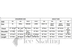 Ice Skating Practice Training Jacket BLACK
