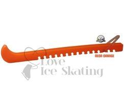 Guardog Figure Neon Orange Ice Skate Blade Guards